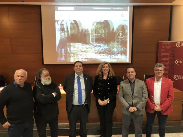 Presentación Experiencias Arribes del Duero en la Cámara de Comercio de Salamanca